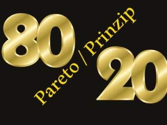 Die 80 20 Regel, das Pareto Prinzip