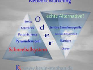 Network Marketing betrügerisches Schneeballsystem oder Chance?